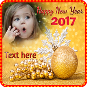 New Year 2017  Photo Frames icon
