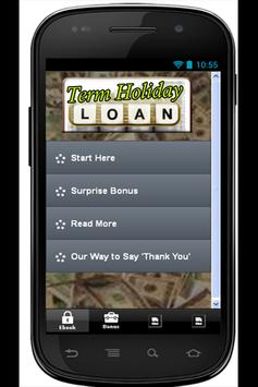 Term Holiday Loans poster