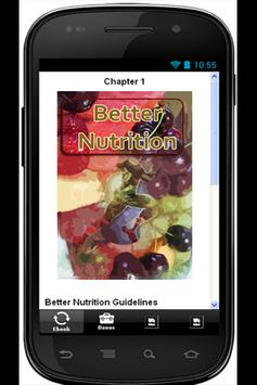 Better Nutrition Guidelines apk screenshot