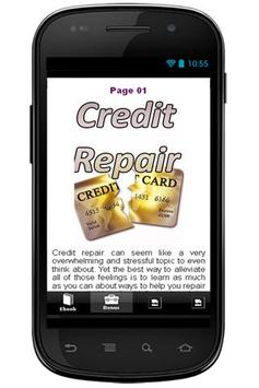 Credit Repair Manual apk screenshot