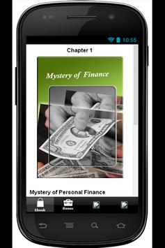 Mystery of Personal Finance apk screenshot