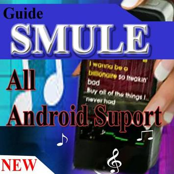 Guide SMULE Suport All Android poster