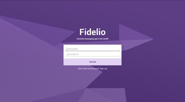 Fidelio apk screenshot