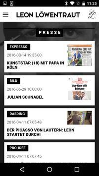 Leon Löwentraut apk screenshot