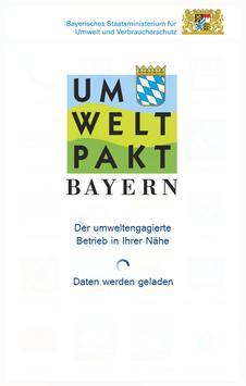Umweltpakt Bayern poster