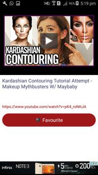 Makeup Contouring Videos apk screenshot
