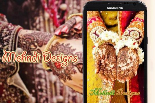 Mehndi Design poster