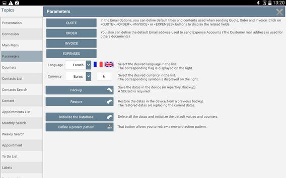 GCMOBILE : Invoice,Quote,Order apk screenshot