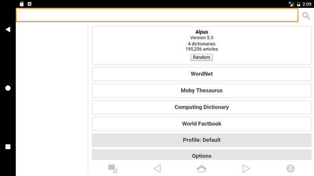 Alpus apk screenshot