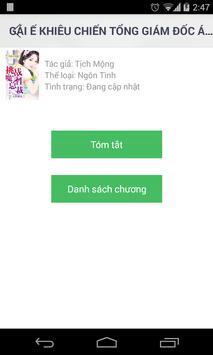 Truyện ngôn tình tổng hợp apk screenshot