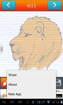 Learn How To Draw Lion apk screenshot