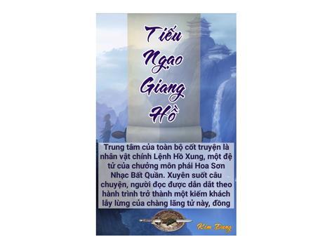 Tiểu thuyết Tiếu Ngạo Giang Hồ poster
