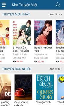 Kho Truyện Việt apk screenshot