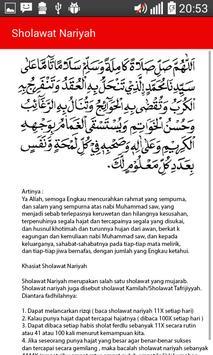 Sholawat Nabi dan Penjelasan apk screenshot