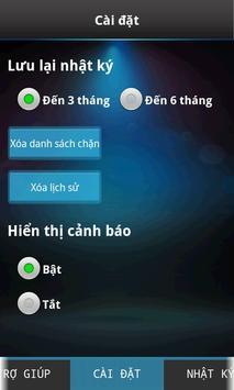 Chặn tin nhắn & cuộc gọi apk screenshot