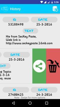 SecKey Paste apk screenshot