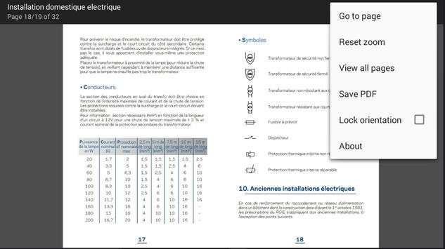 Installation électrique Pro apk screenshot