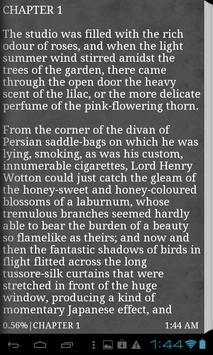 Dorian Gray Oscar Wilde (free) apk screenshot