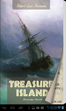 Treasure Island Free eBook App poster