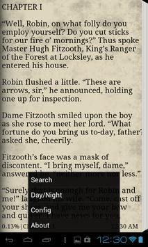 Robin Hood eBook App (Free) apk screenshot