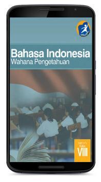 Buku Bahasa Indonesia Kelas 8 poster