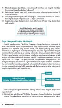 Buku Bahasa Indonesia Kelas 8 apk screenshot