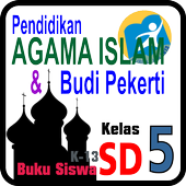 Buku PAI & BP SD Kelas 5 icon