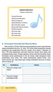 Buku  PPKn SMP Kelas 9 apk screenshot