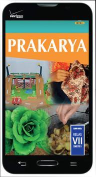 Buku Prakarya SMP Kelas 7 smt1 poster