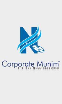 Corporate Munim poster