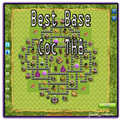 Best Base Coc TH8 icon