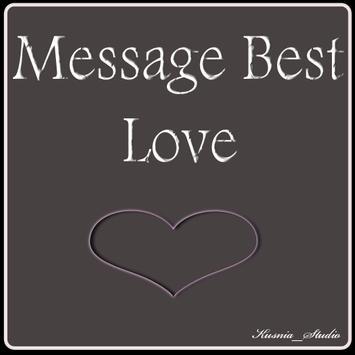 Message Best Love poster