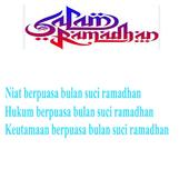 Niat puasa bulan ramadhan icon