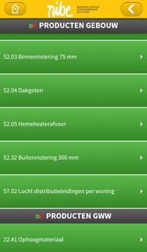 NIBE's Milieuclassificaties apk screenshot