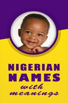 Nigerian Names poster