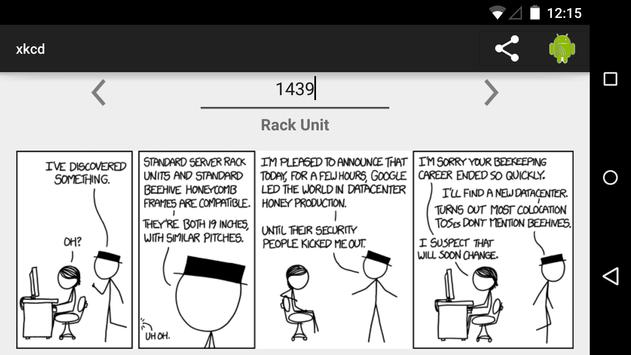 xkcd apk screenshot