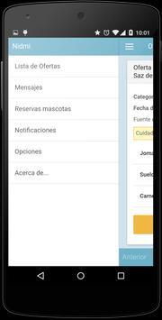 Ofertas de Empleo - Nidmi apk screenshot