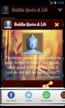 Buddha Quotes & Life of Buddha apk screenshot