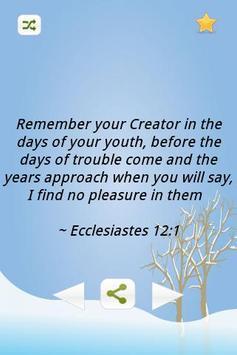 Inspiring Bible Verses-Youth apk screenshot