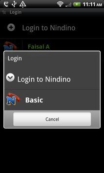 Nindino SIP Dialer apk screenshot