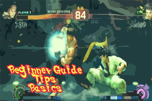 Guide for Street Fighter IV poster