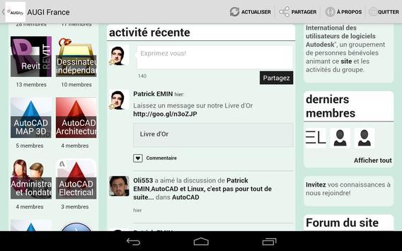 AUGI France apk screenshot