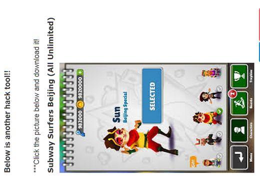 Hack fpr Subway Surfers apk screenshot