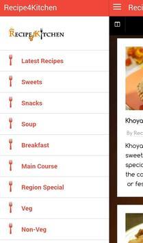 Recipe4Kitchen apk screenshot