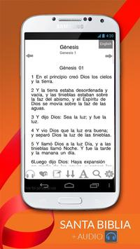 Santa Biblia Reina Valera Free poster