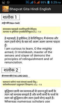 Bhagvad Geeta In Hindi apk screenshot