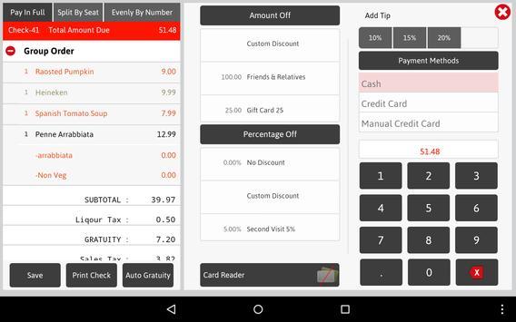 Nirvana XP - Point of Sale. apk screenshot