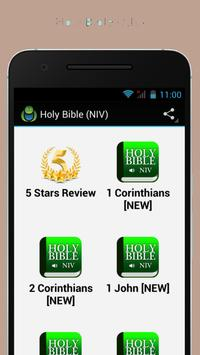 Youversion Bible [NIV] poster