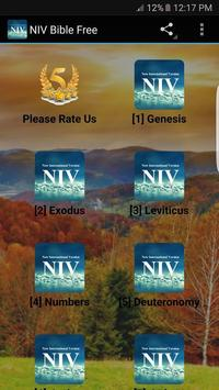 NIV Bible Free poster