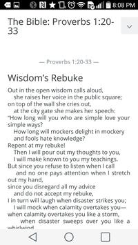 Daily Bible reading - NIV apk screenshot